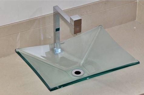 Cuba de Vidro - Grand Sulle 47 x 36 cm vidro Incolor Bergan